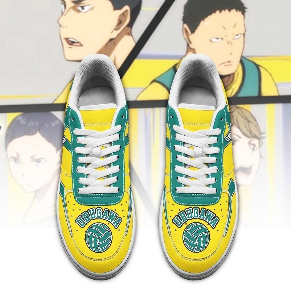 Haikyuu Ubugawa High Air Shoes Uniform Haikyuu Anime Shoes GO1012
