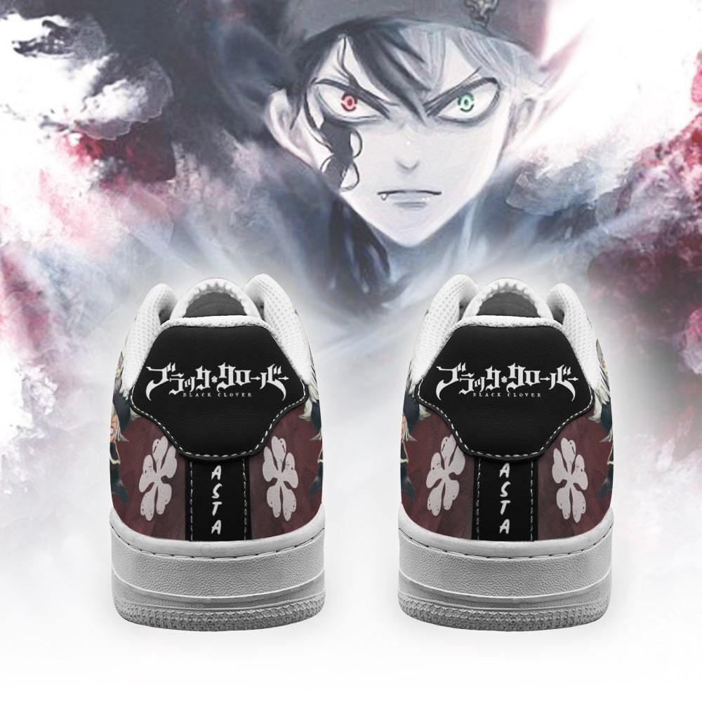 Asta Air Shoes Black Bull Knight Black Clover Anime Shoes GO1012