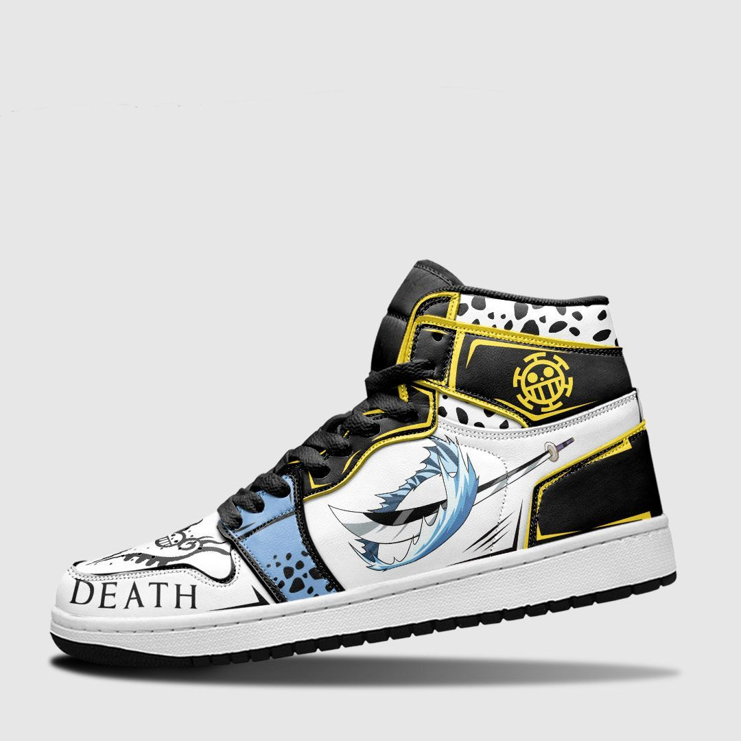 One Piece Shoes Sneakers Trafalgar Law Room Custom Anime Shoes GO1210