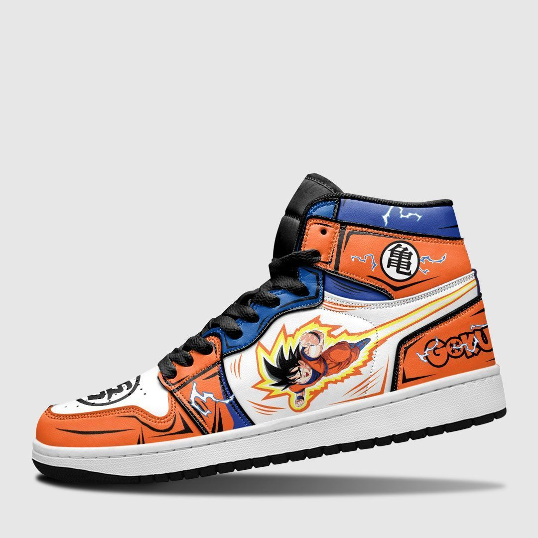 Goku JD Sneakers Custom Anime Dragon Ball Shoes GO1210