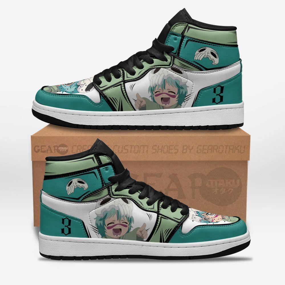 Bleach Shoes Sneakers Nel tu Cute Ver Custom Anime Shoes GO1210