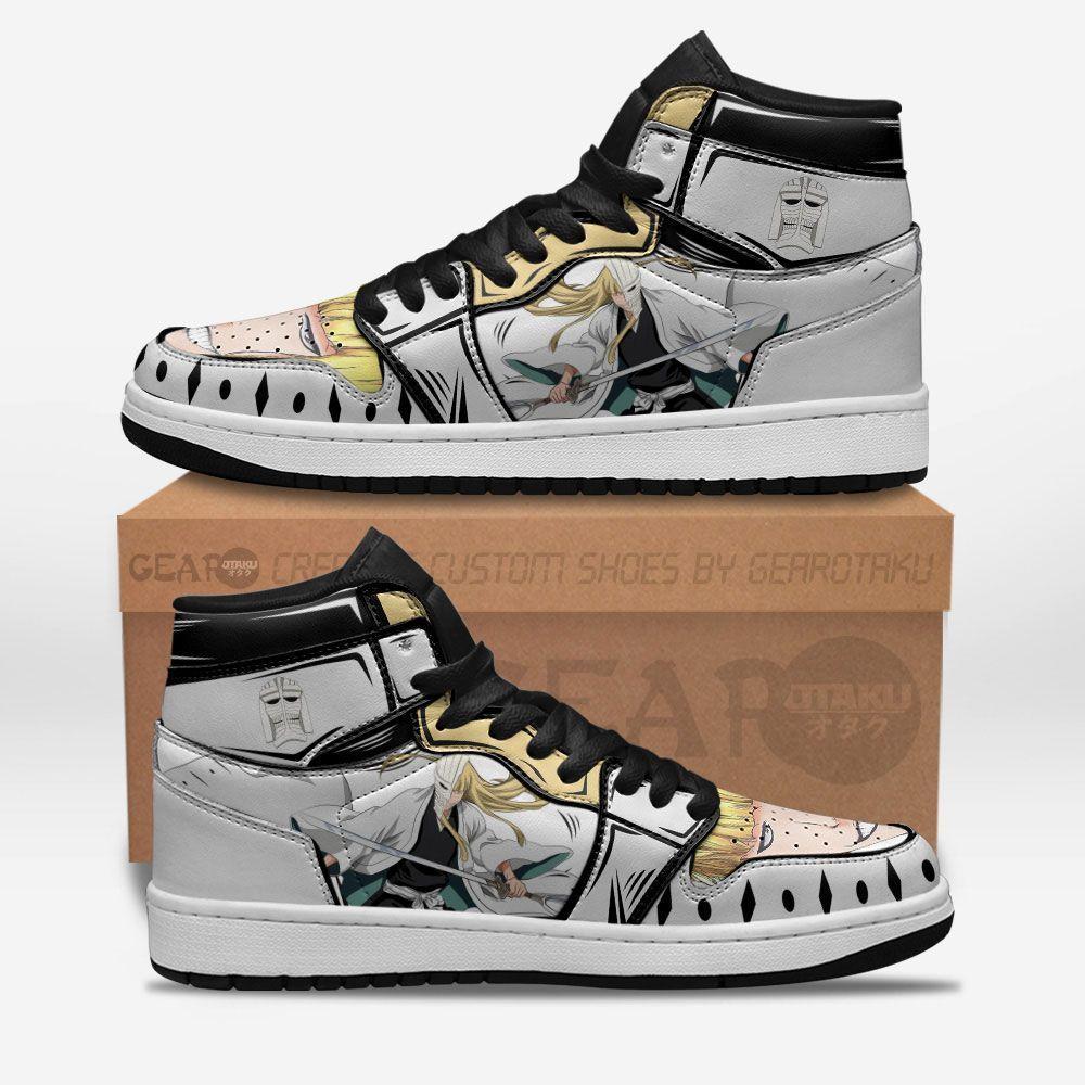 Bleach Shoes Sneakers Shinji Hirako Custom Anime Shoes GO1210