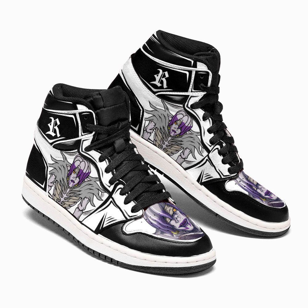 Death Note Shoes Sneakers Rem Custom Anime Shoes GO1210