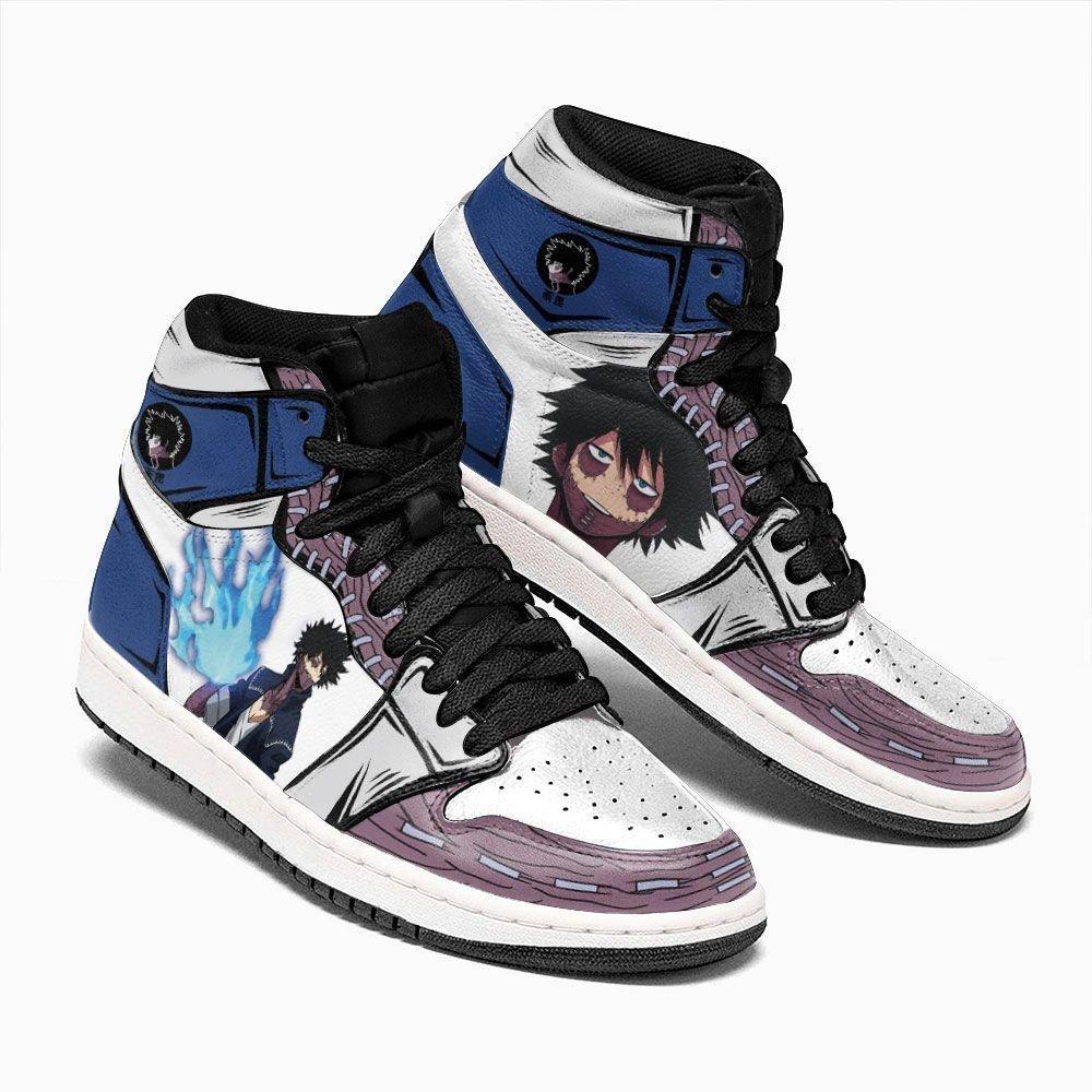 Dabi Boots Shoes Custom My Hero Academia Shoes BNHA Anime Gifts GO1210