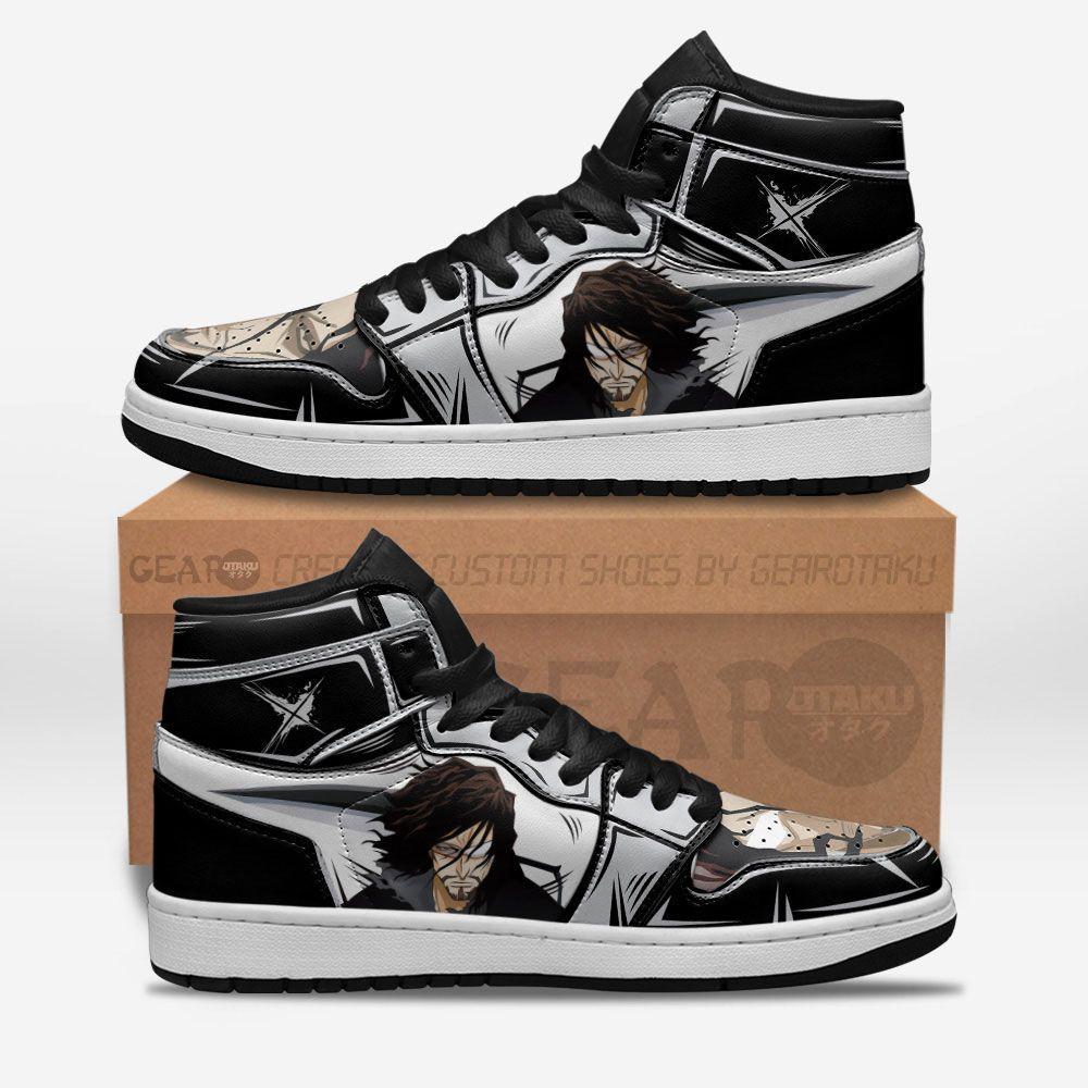 Bleach Shoes Sneakers Zangetsu Custom Anime Shoes GO1210