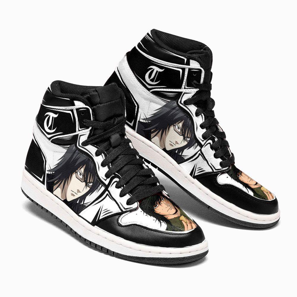 Death Note Shoes Sneakers Teru Mikami Kira 4 Custom Anime Shoes GO1210
