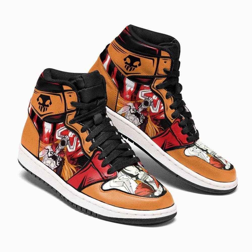Bleach Shoes Sneakers Ichigo Demon Hollow Custom Anime Shoes GO1210