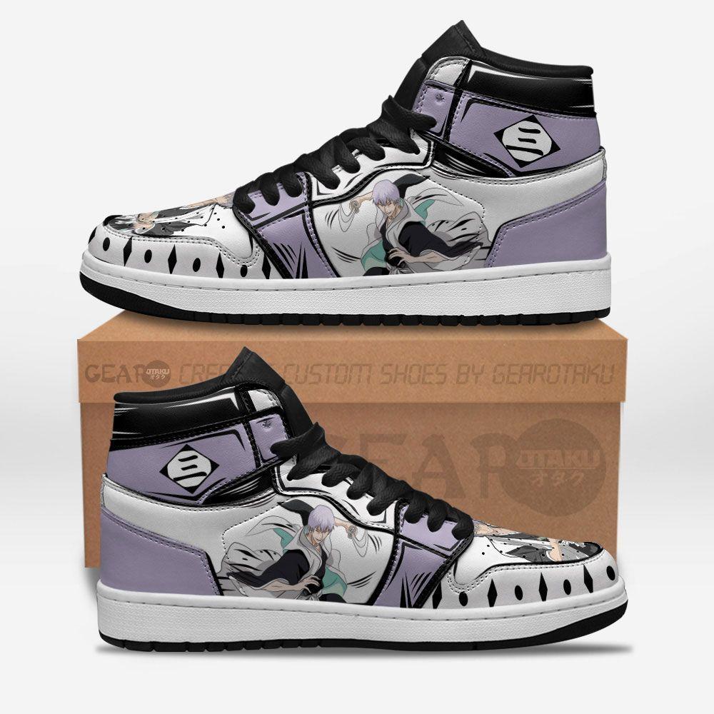 Bleach Shoes Sneakers Gin Ichimaru Custom Anime Shoes GO1210