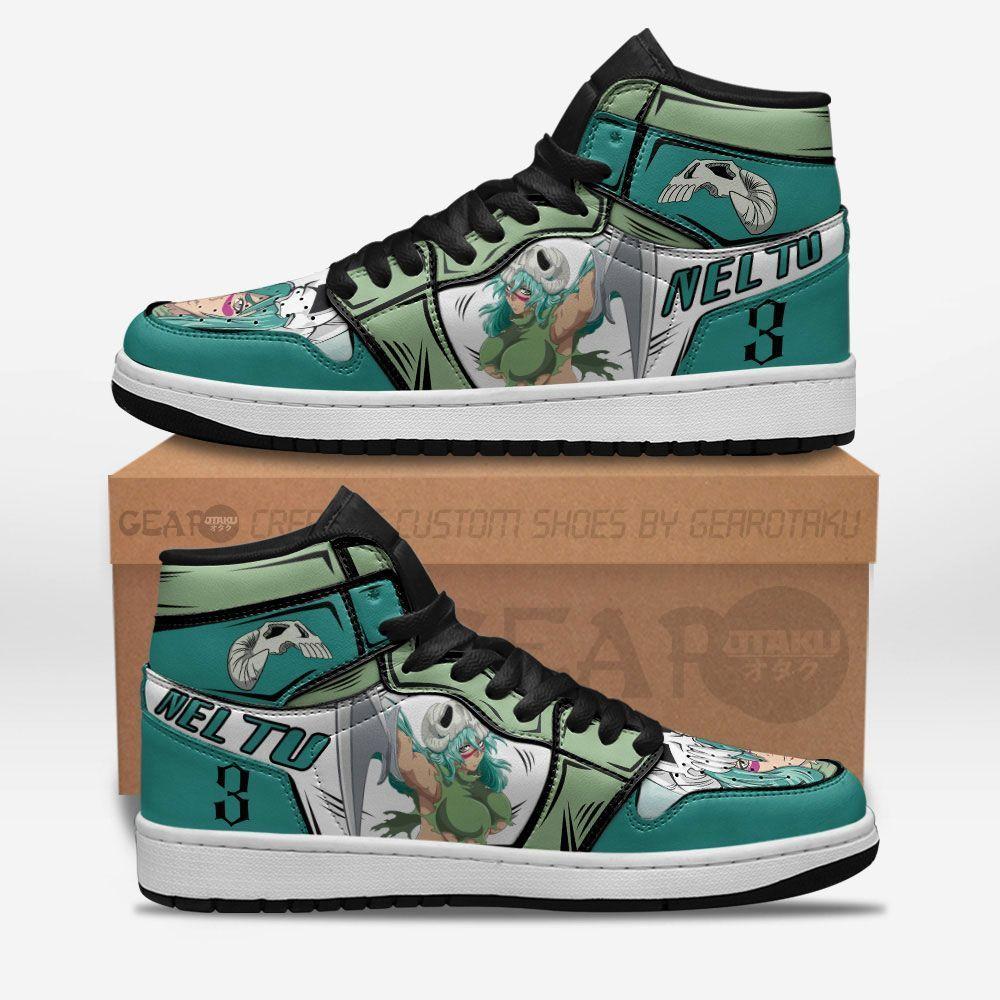 Bleach Shoes Sneakers Nel tu Sexy Ver Custom Anime Shoes GO1210