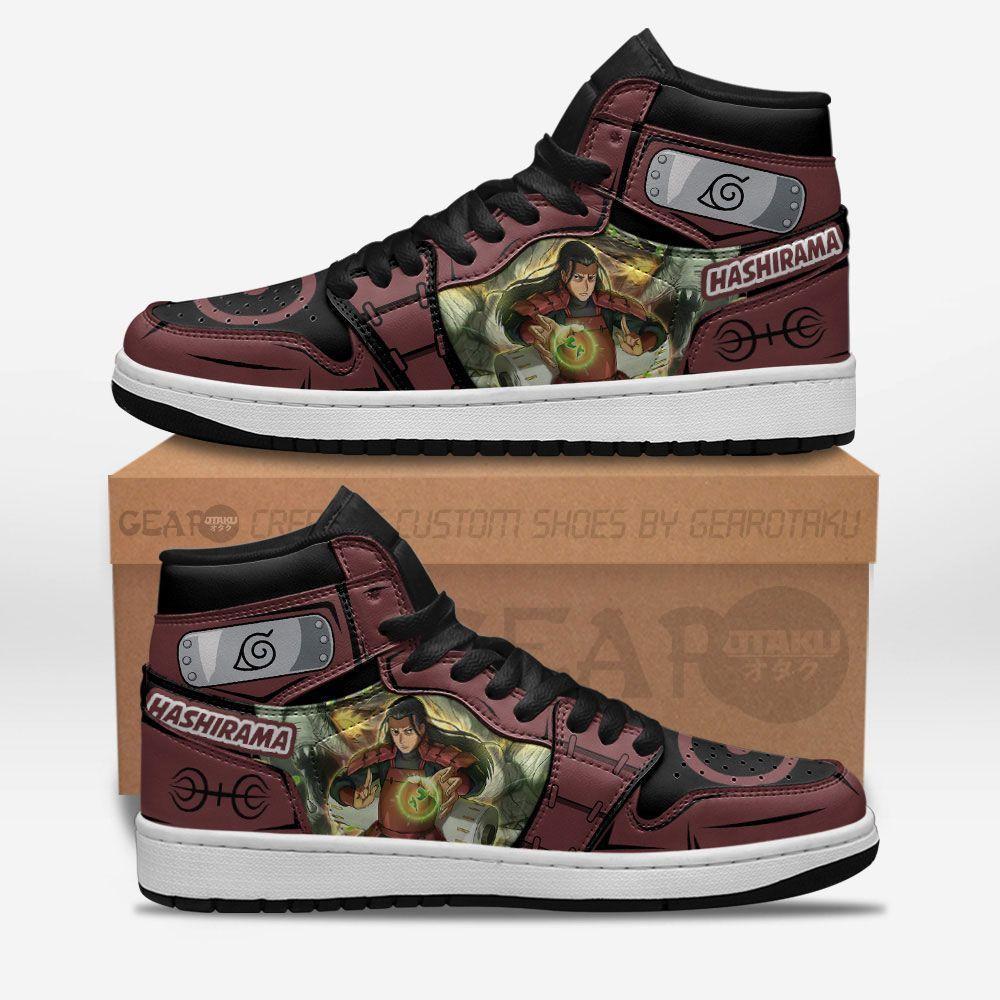 Hashirama Senju Shoes Sneakers Naruto Custom Anime Shoes GO1210