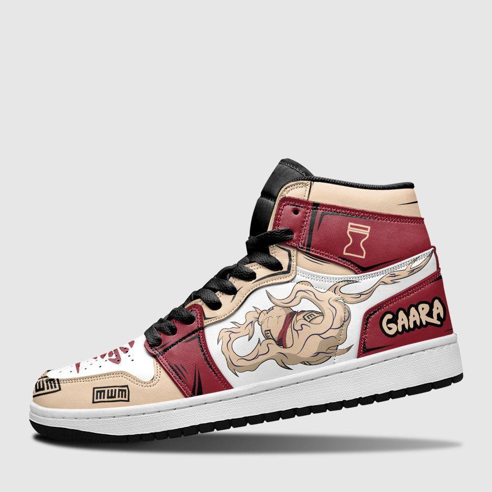 Gaara Gourd Shoes Sneakers Naruto Custom Anime Shoes GO1210