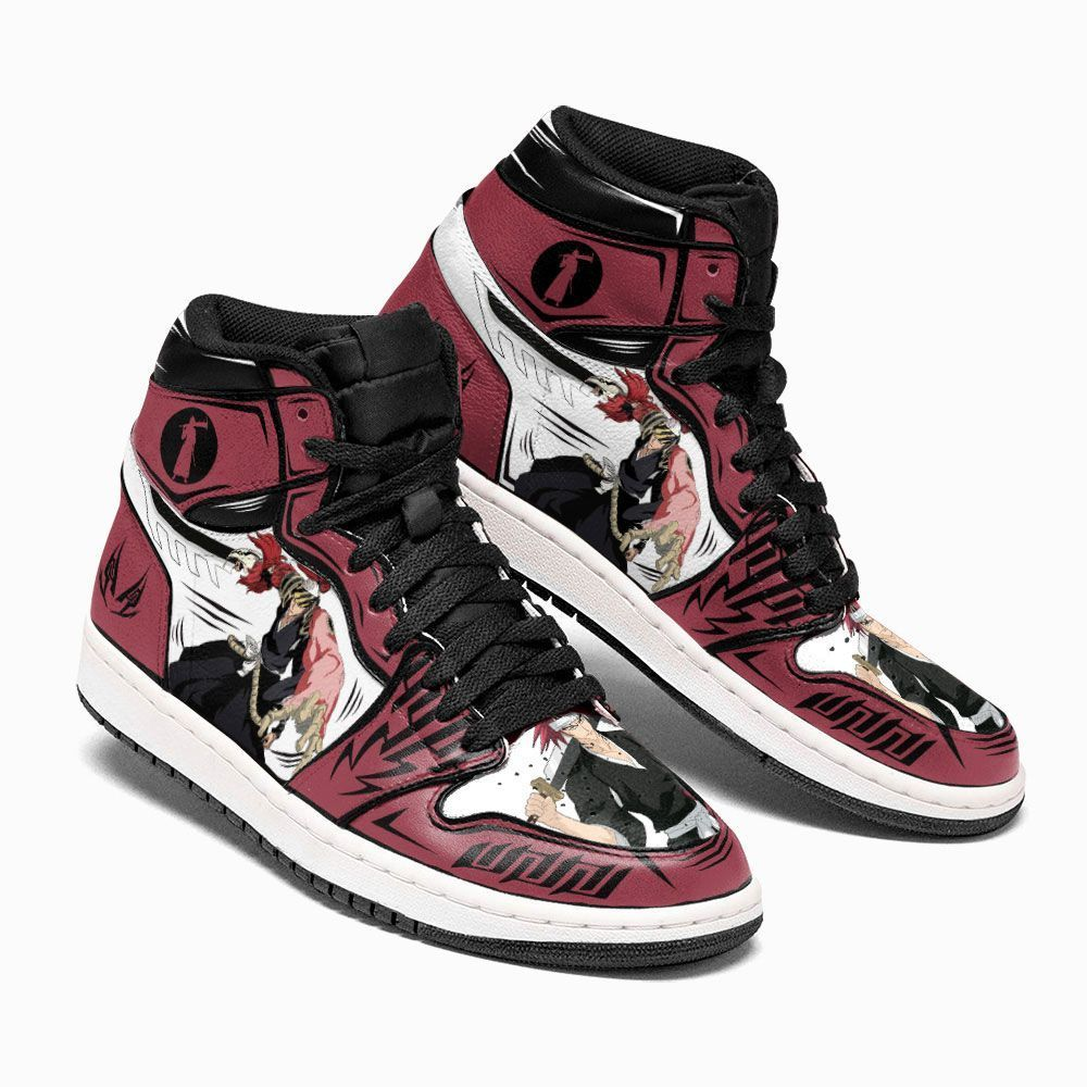 Bleach Shoes Sneakers Renji Abarai Custom Anime Shoes GO1210