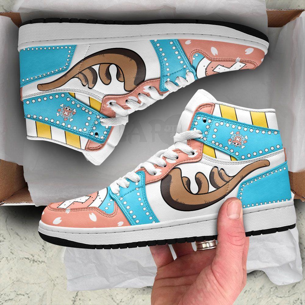 Chopper Sneakers Custom Horn Anime One Piece Shoes GO1210