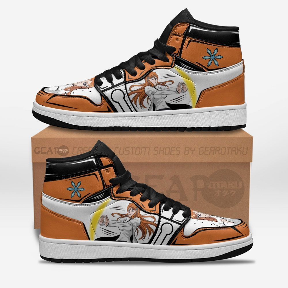Bleach Shoes Sneakers Orihime Inoue Custom Anime Shoes GO1210