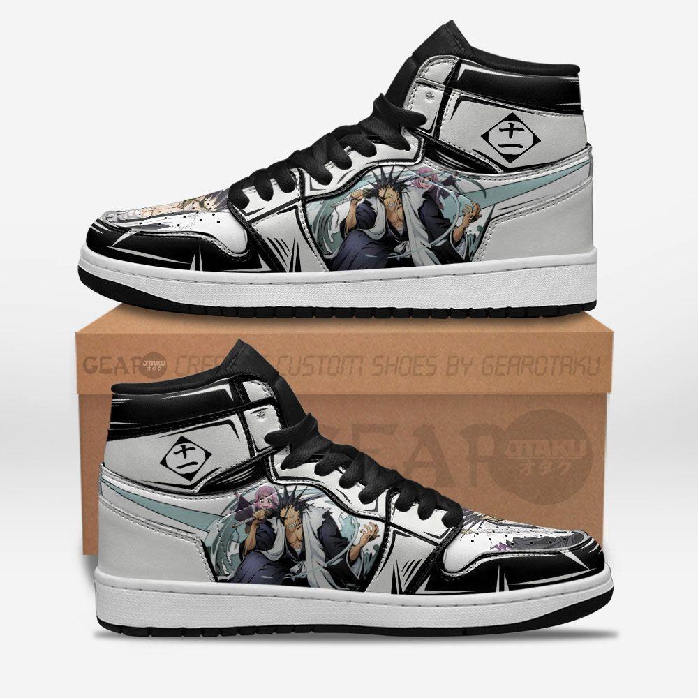 Bleach Shoes Sneakers Kenpachi Zaraki Custom Anime Shoes GO1210