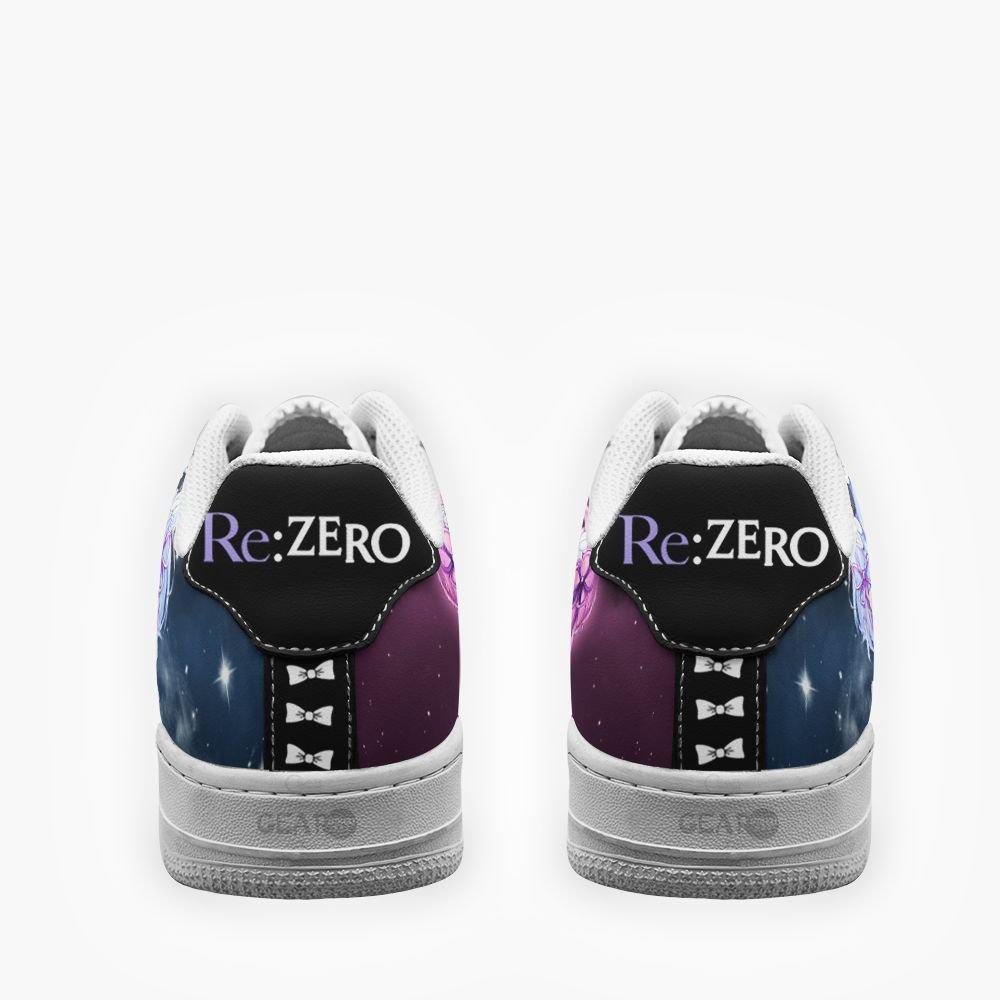 Rem Ram Air Shoes Re Zero Custom Anime Shoes GO1012