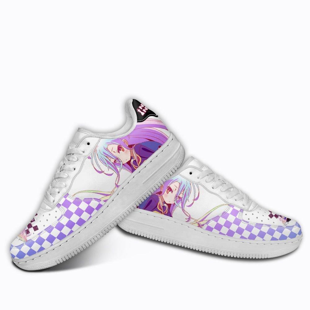 No Game No Life Shiro Air Shoes Custom Anime Shoes GO1012