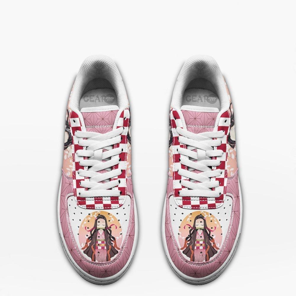 Nezuko Air Shoes Custom Demon Slayer Anime Shoes Gifts Idea For Fan GO1012