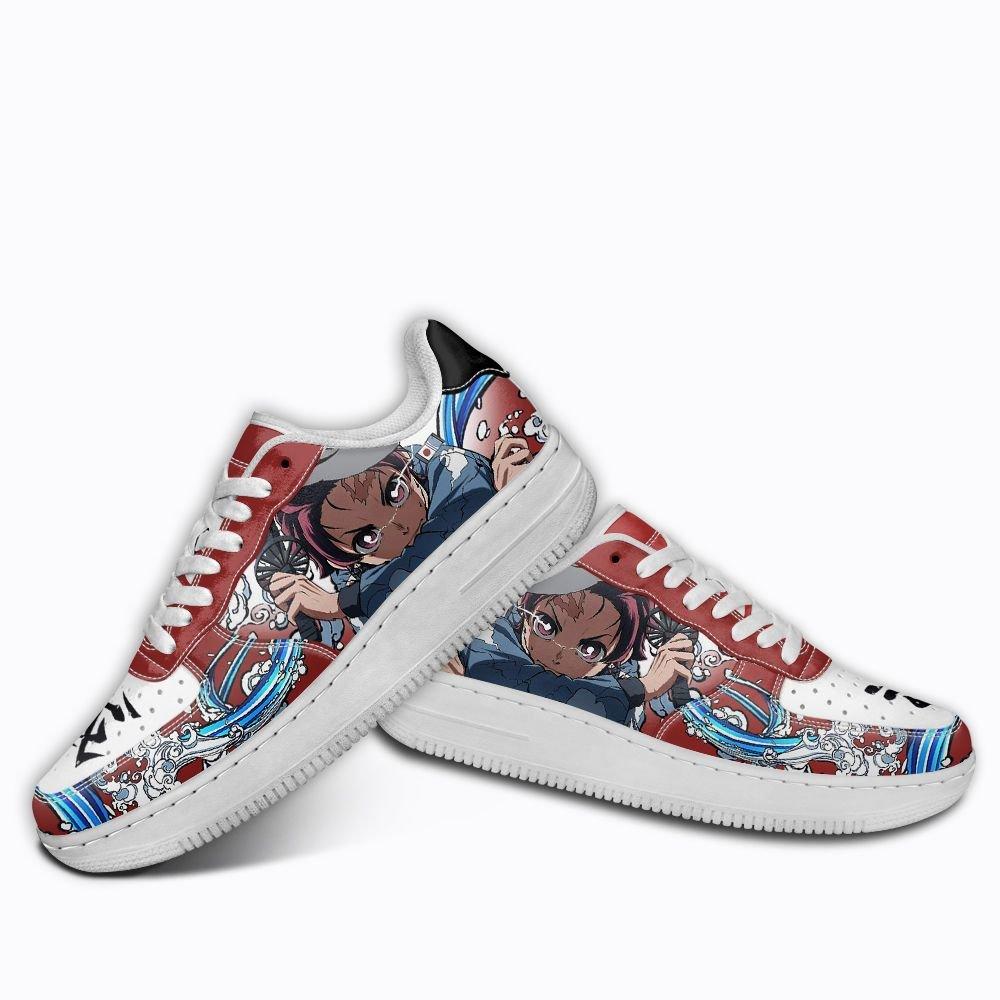 Demon Slayer Tanjiro Kamado Air Shoes Custom Anime Shoes GO1012