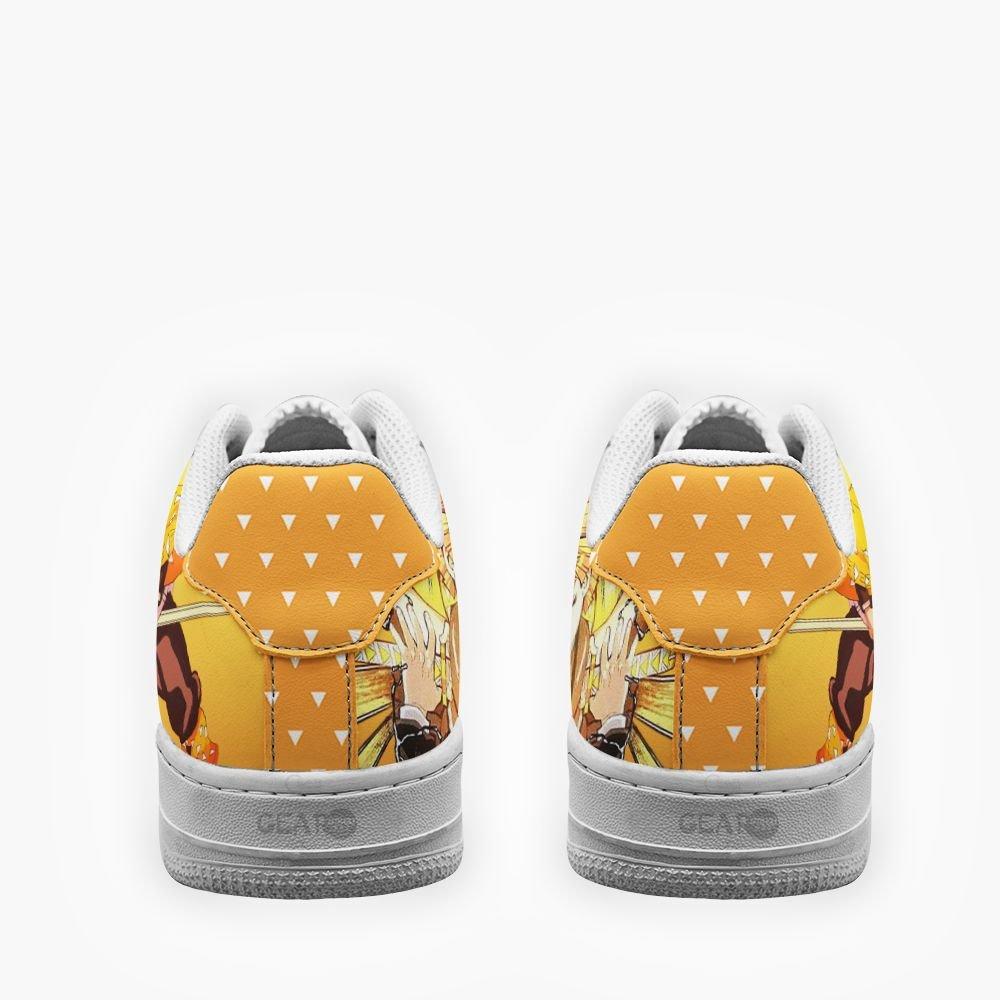 Demon Slayer Zenitsu Agatsuma Air Shoes Custom Anime Shoes GO1012