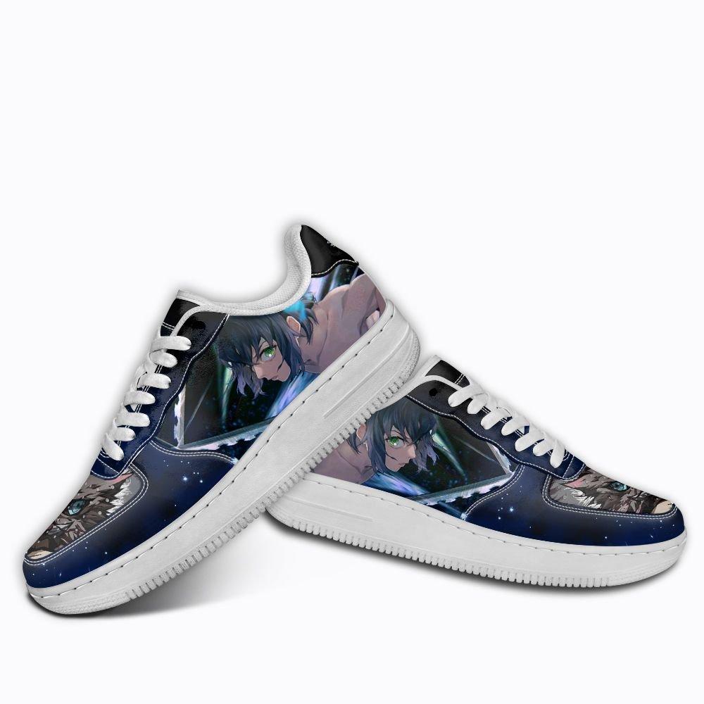 Demon Slayer Inosuke Hashibra Air Shoes Custom Anime Shoes GO1012