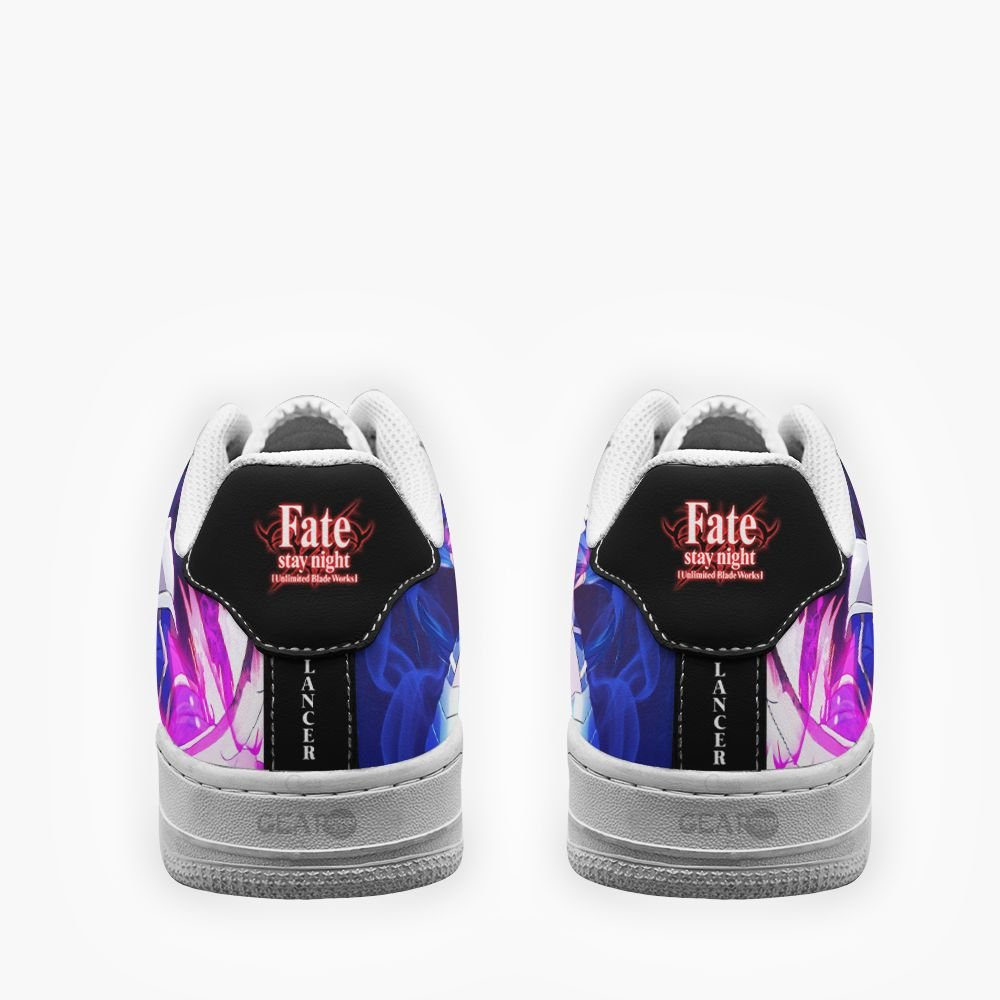 Fate Stay Night Lancer Air Shoes Custom Anime Shoes GO1012