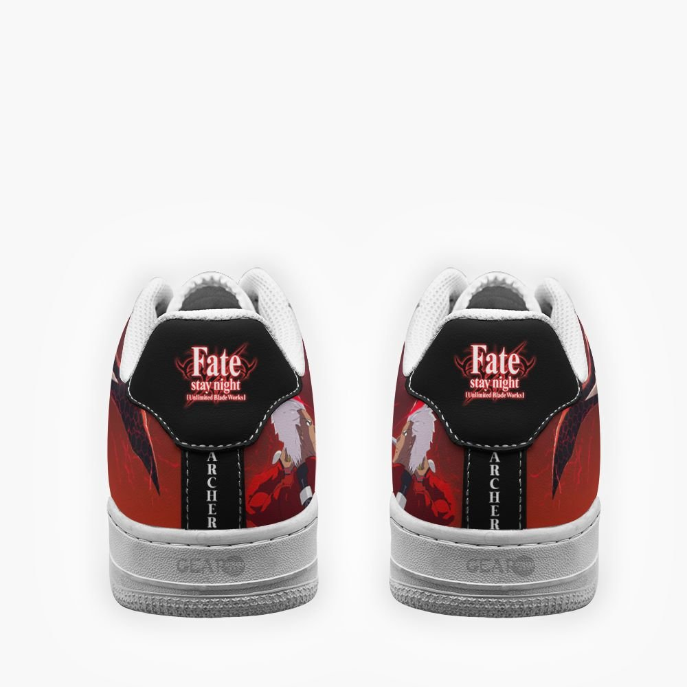 Fate Stay Night Archer Air Shoes Custom Anime Shoes GO1012