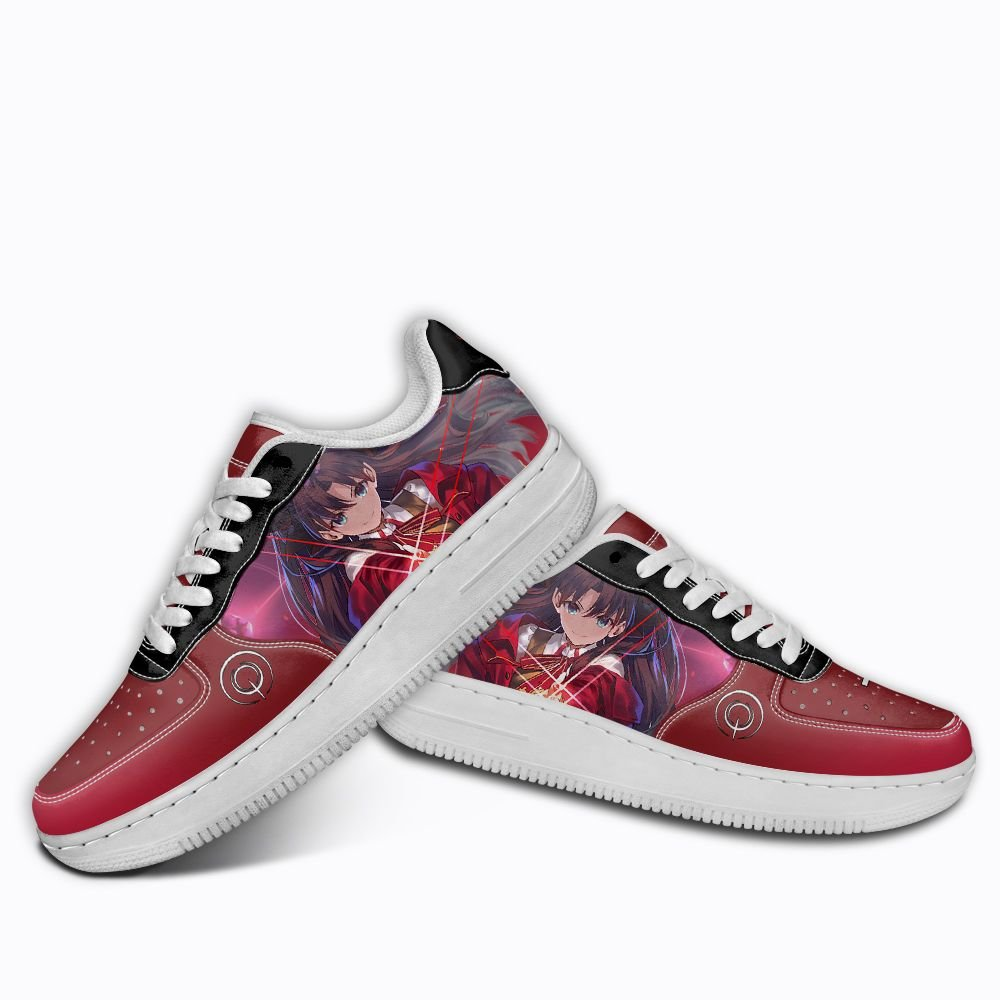 Fate Stay Night Rin Tohsaka Air Shoes Custom Anime Shoes GO1012