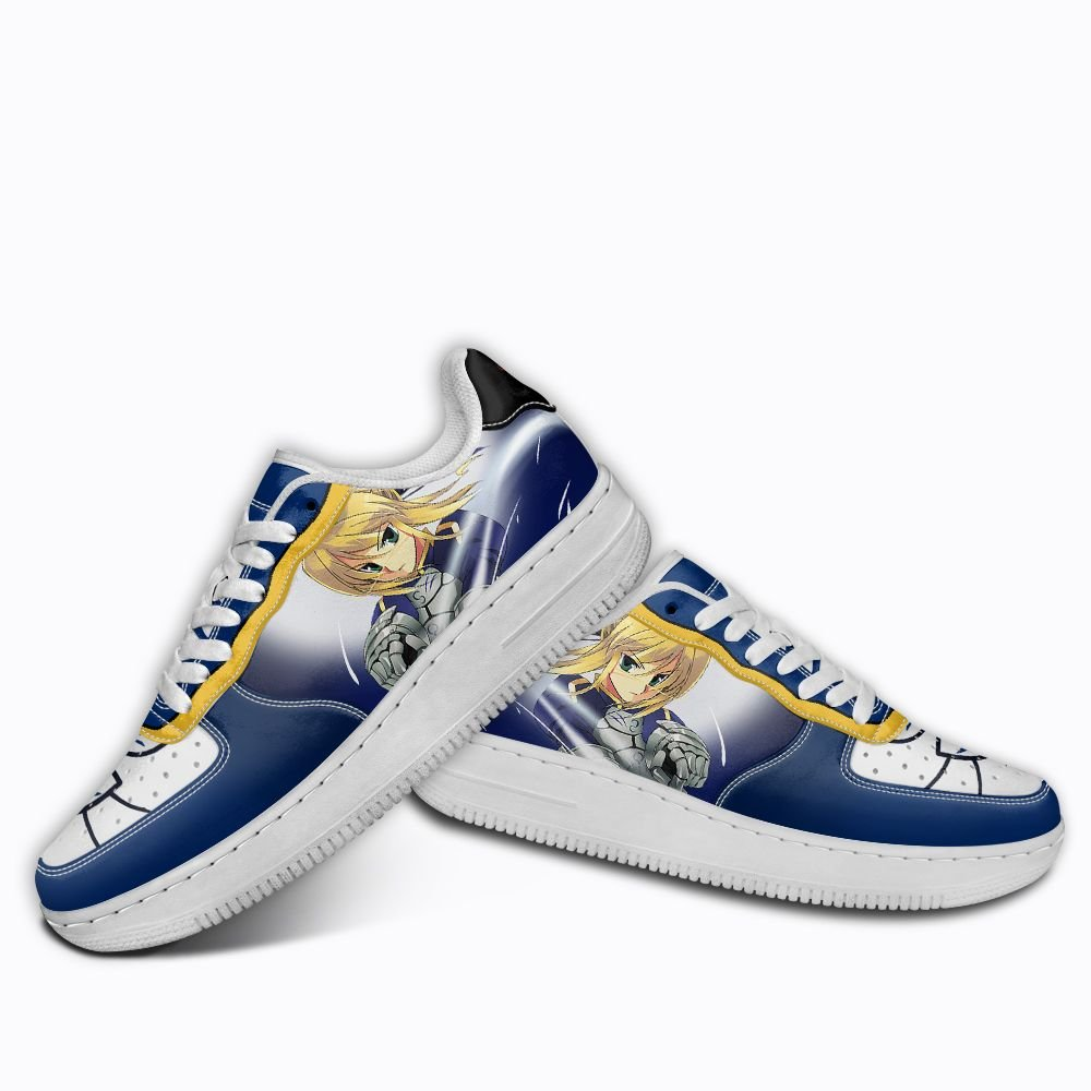 Fate Stay Night Saber Air Shoes Custom Anime Shoes GO1012