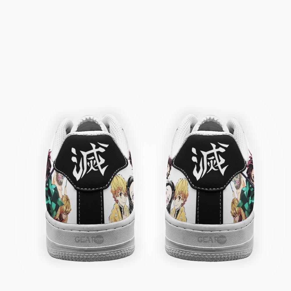 Demon Slayer Air Shoes Uniform Custom Anime Shoes GO1012