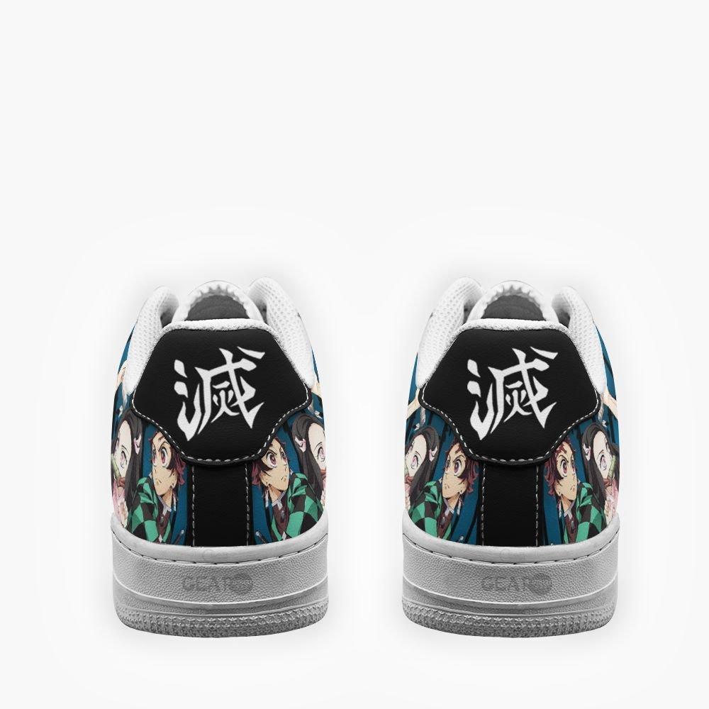 Demon Slayer Team Air Shoes Custom Anime Shoes GO1012