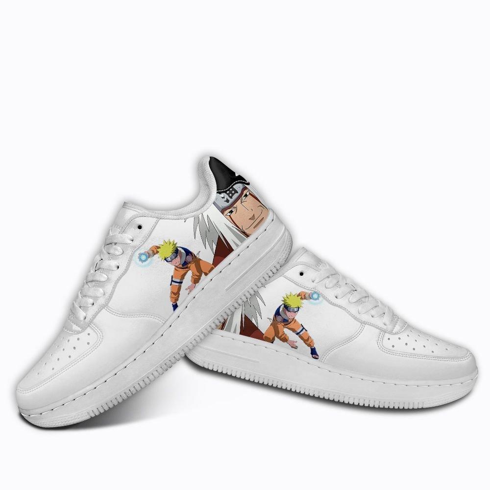 Naruto Air Shoes Jiraiya Rock Lee Might Guy Custom Anime Shoes GO1012