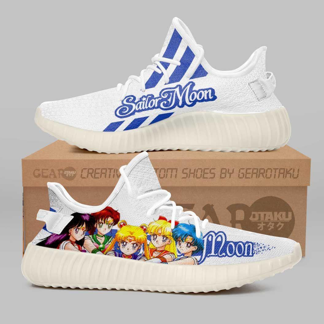 Sailor Moon Shoes Sailor Team Custom Anime Shoes G01210