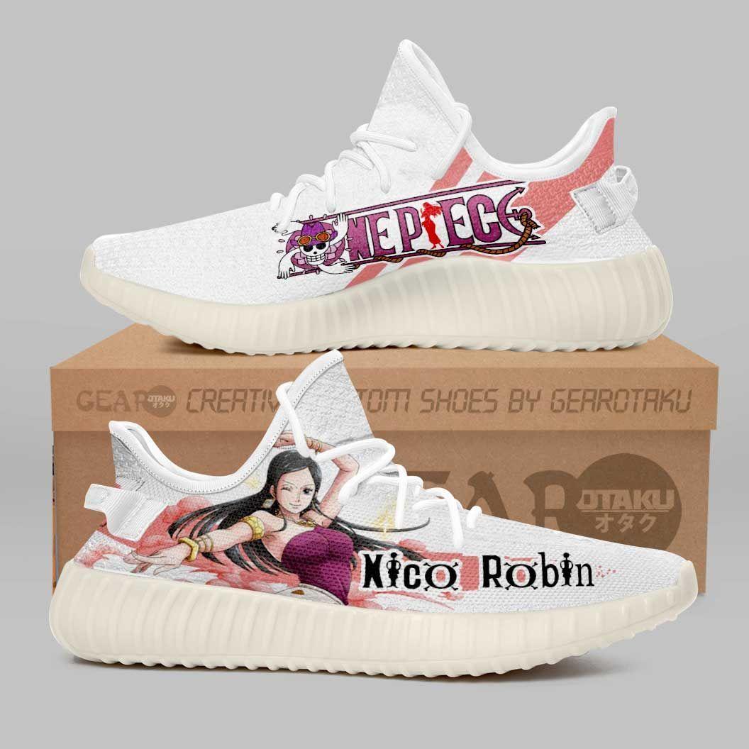 Nico Robin Shoes One Piece Custom Anime Shoes G01210