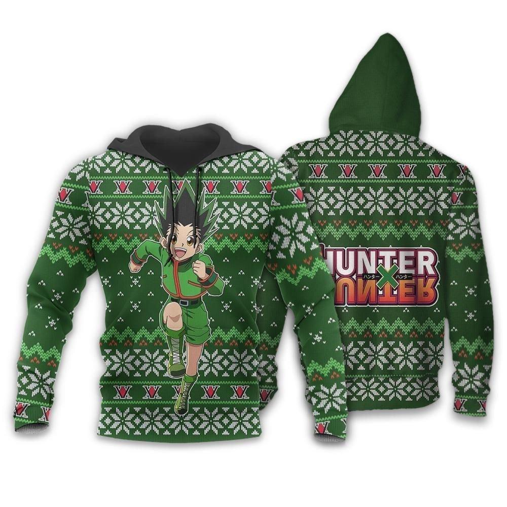 Gon Ugly Christmas Sweater Hunter X Hunter Anime Custom Xmas Clothes GO0110