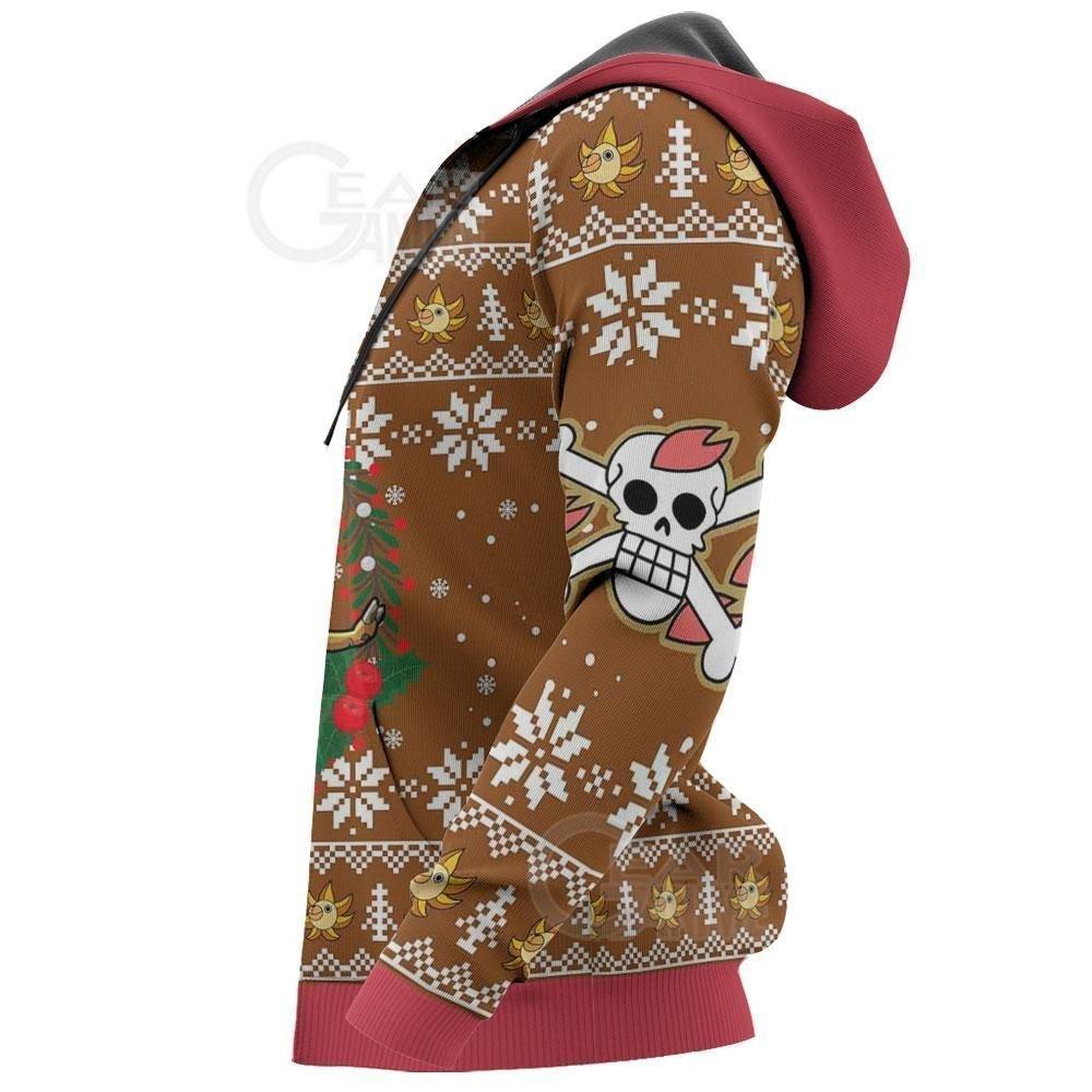 Happy Chopper Ugly Christmas Sweater One Piece Anime Xmas GO0110