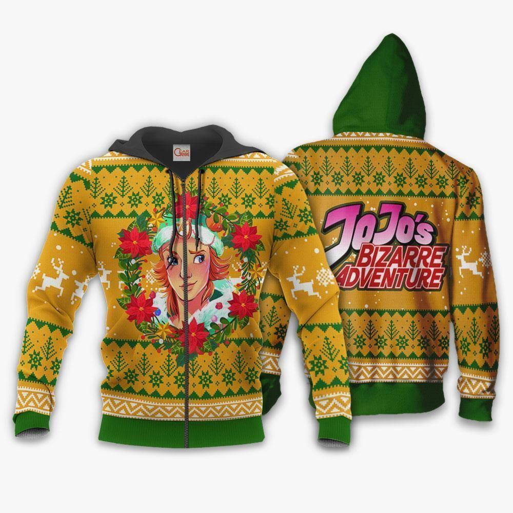 Dio Brando Ugly Christmas Sweater JoJo's Anime Xmas Hoodie GO0110