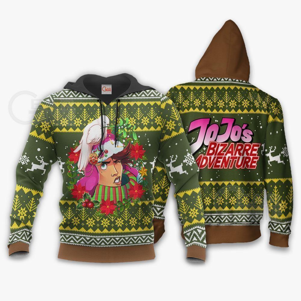 Joseph Joestar Ugly Christmas Sweater JoJo's Anime Shirt GO0110