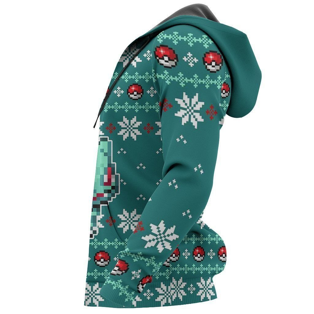 Pokemon Bulbasaur Ugly Christmas Sweater Custom Xmas Gift GO0110