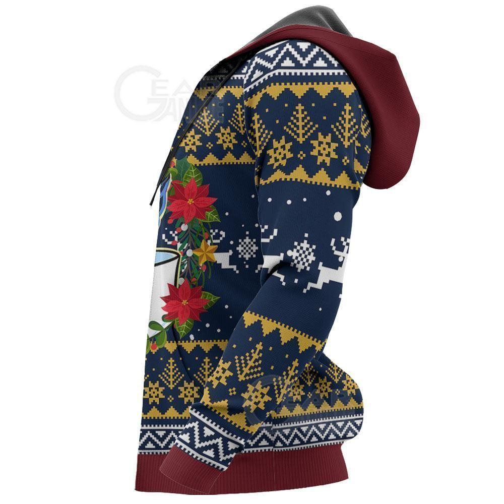Jotaro Kujo Ugly Christmas Sweater JoJo's Anime Xmas Hoodie GO0110