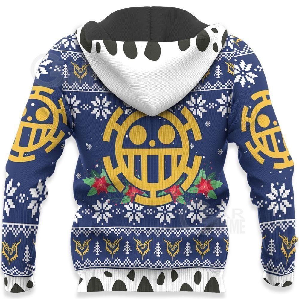Trafalgar Law Ugly Christmas Sweater One Piece Anime Xmas GO0110