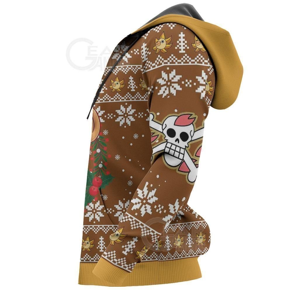Tony Tony Chopper Ugly Christmas Sweater One Piece Anime Xmas GO0110