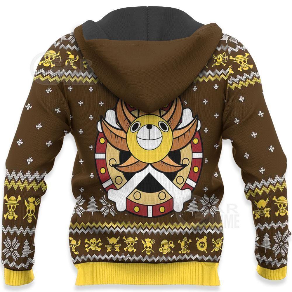 Straw Hat Pirates Ugly Christmas Sweater One Piece Anime Xmas GO0110