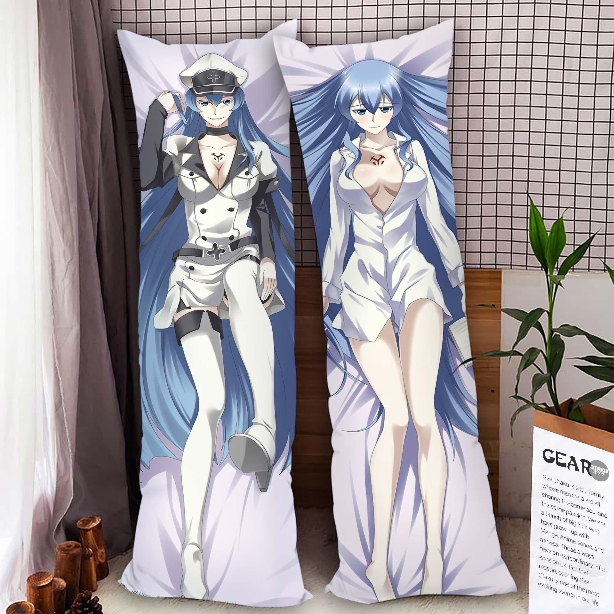 Akame ga Kill! Esdeath Body Pillow Cover Anime Gifts Idea For Otaku Girl Official Merch GO0110
