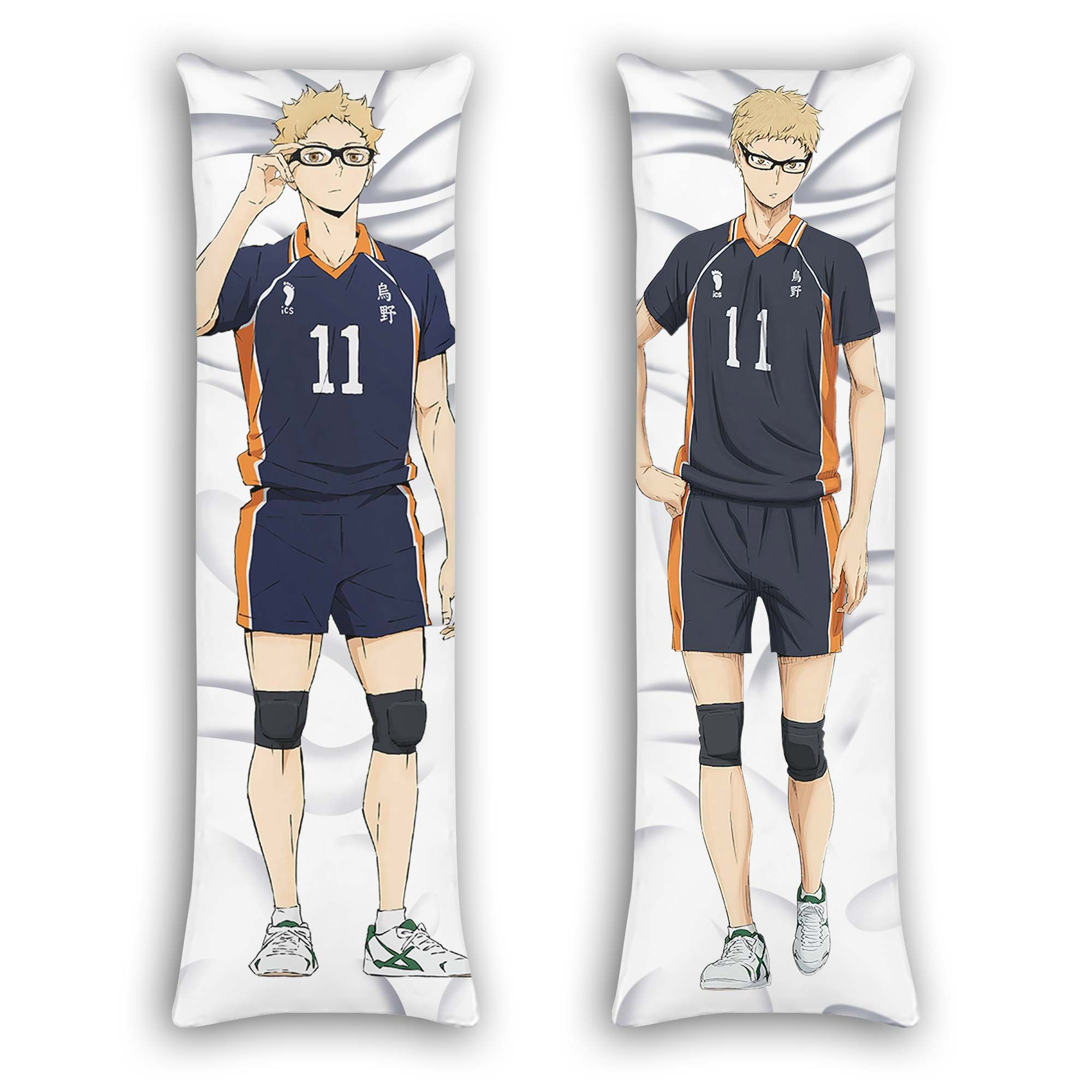 Kei Tsukishima Body Pillow Cover Custom Haikyuu Anime Gifts Official Merch GO0110