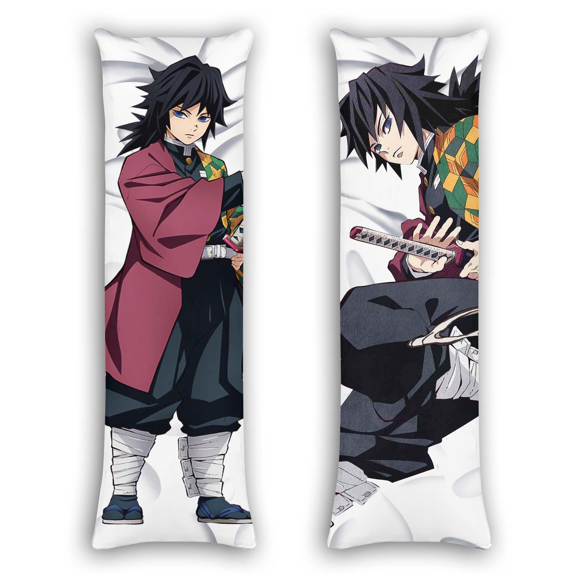 Giyuu Tomioka Body Pillow Cover Custom Demon Slayer Anime Gifts Official Merch GO0110
