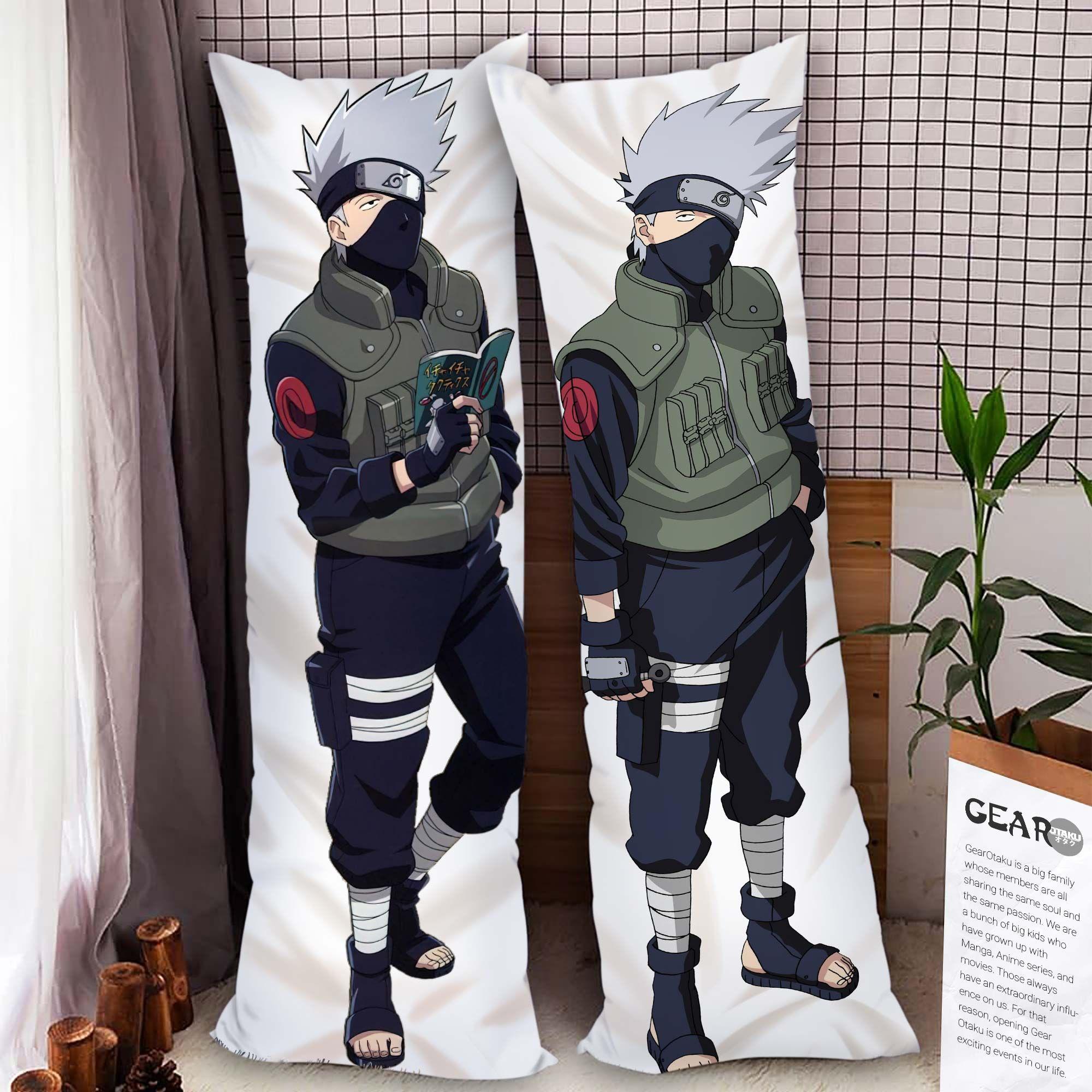 Kakashi Body Pillow Cover Custom Naruto Anime Gifts Official Merch GO0110