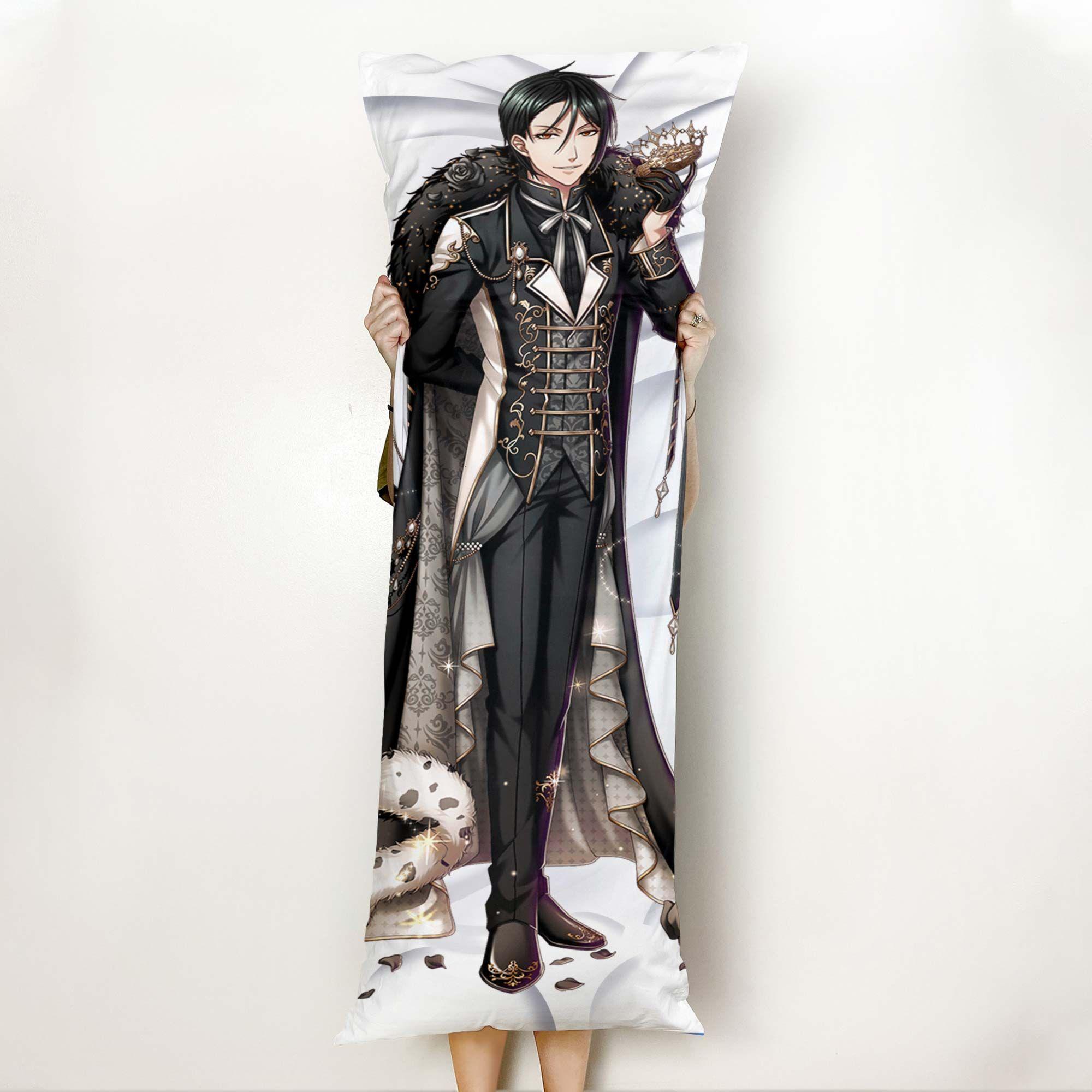 Sebastian Michaelis Body Pillow Cover Custom Black Butler Anime Gifts Official Merch GO0110