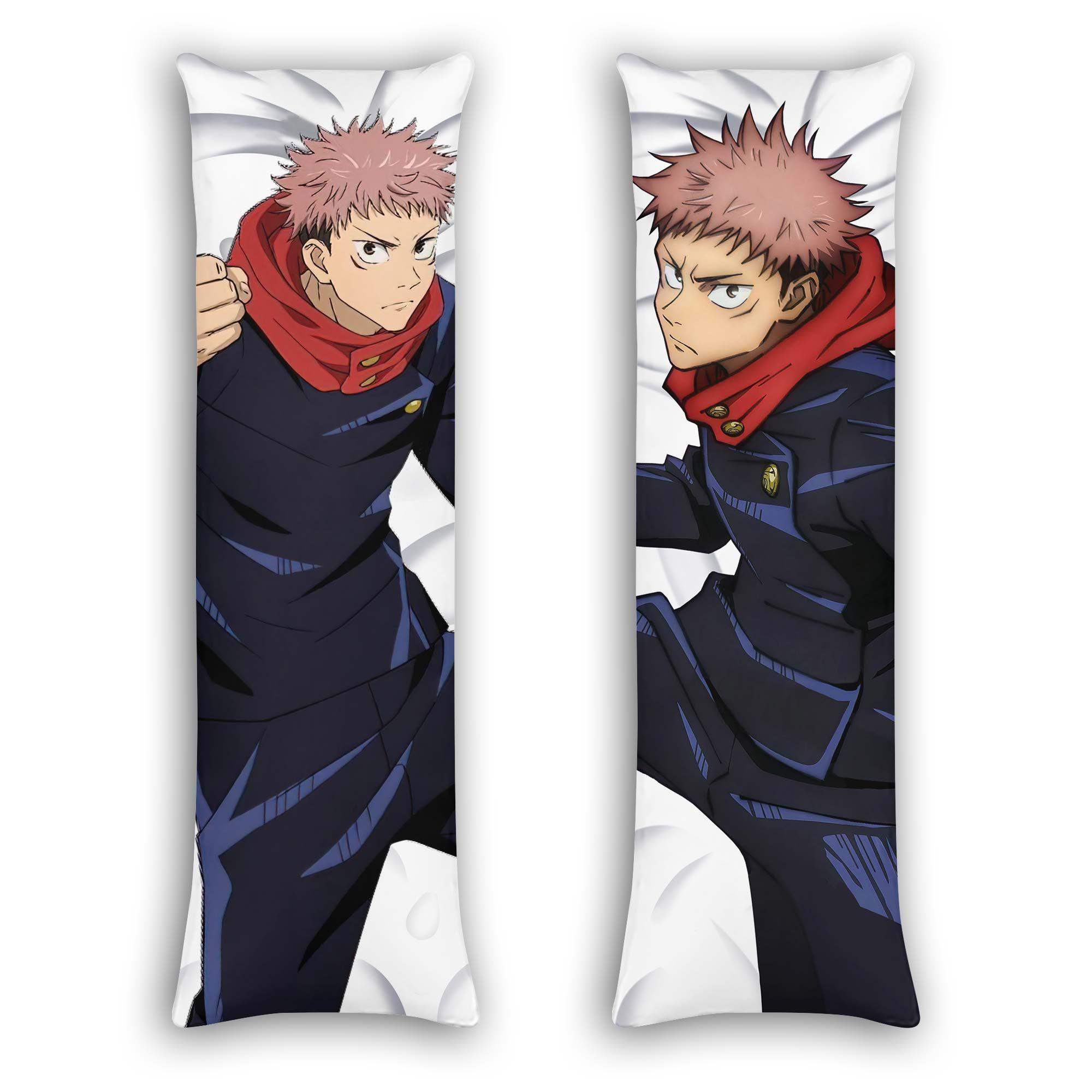 Yuji Itadori Body Pillow Cover Custom Jujutsu Kaisen Anime Gifts Official Merch GO0110