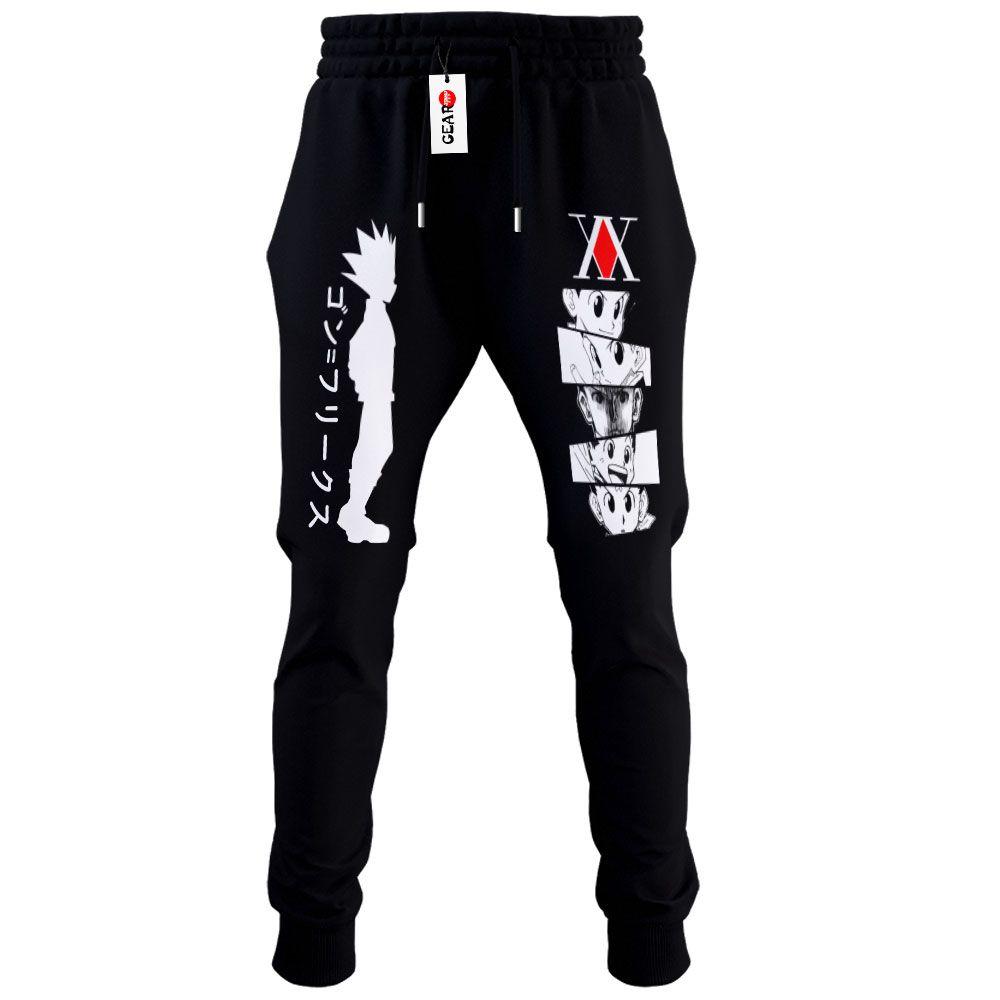 HxH Gon Joggers Fleece Custom Hunter x Hunter Anime Sweatpants G01210